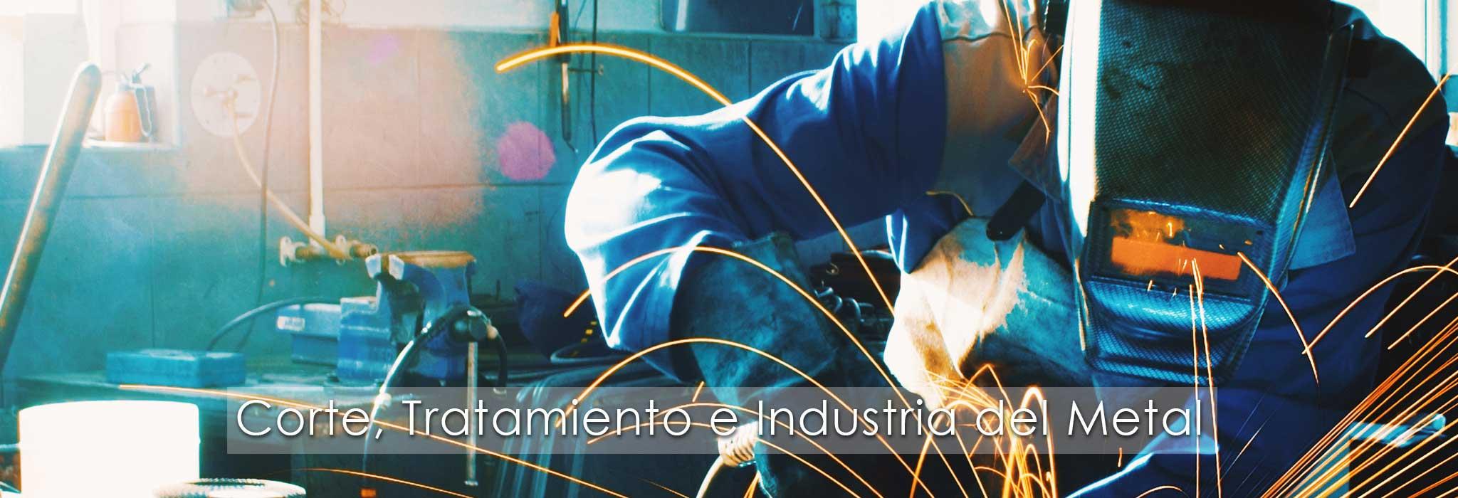 erp corte tratamiento industria metal