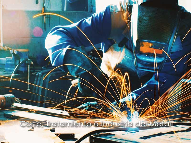 ERP Corte tratamiento e industria del metal