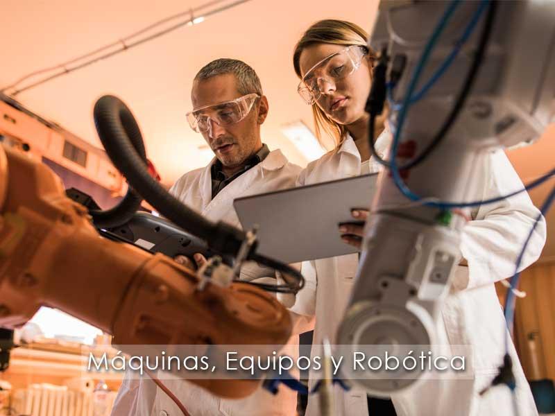 ERP Máquinas, Equipos y Robótica